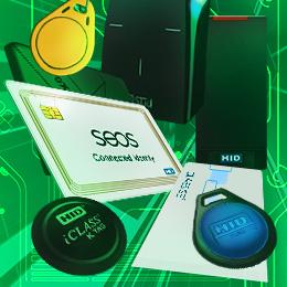 Lecteurs RFID de contrôle d'accès