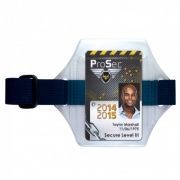 Brassard pour badge sangle Bleue